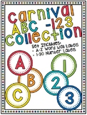 Carnival ABC - 123 Collection