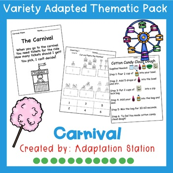 Carnival Adapted Thematic Pack