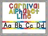 Carnival Alphabet Line