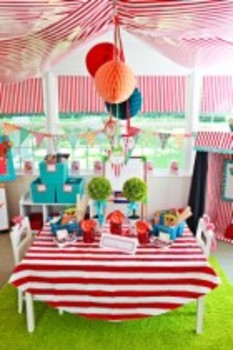 Classroom Decor Carnival Banner and Letters