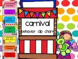Carnival Behavior Clip Chart