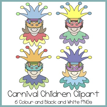 Carnival Children Clipart