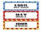 Carnival Circus Calendar Months