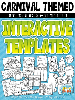 Carnival Circus Themed Flippable Interactive Templates — I