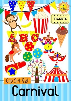 Carnival Clip Art Set