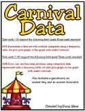 Carnival Data: 3rd Grade Texas Math TEKS 3.8A 3.8B STAAR Practice