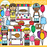 Carnival Foods Clip Art