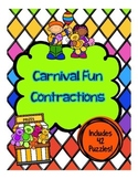 Carnival Fun Contraction Puzzles