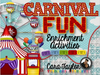 Carnival Fun ~ Enrichment Activities & Centers for Young Learners