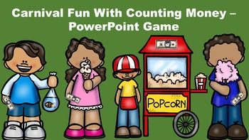 Carnival Fun With Counting Money - PowerPoint Game