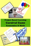 Carnival Game Economics PBL Project-Based Learning GATE