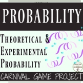 Theoretical Experimental Geometric Probability Carnival Project EDITABLE