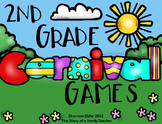 Carnival Games - 2nd Grade Review Using Math Games