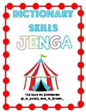 Carnival Games: Dictionary Skills Jenga