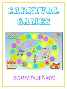 Carnival Games Math Folder Game - Common Core - Counting O