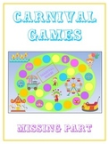 Carnival Games Math Folder Game - Common Core - Finding the Missing Part