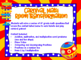 Carnival Games Room Transformation Math Review