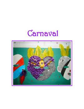 Carnival * Masks For Spanish Class