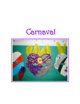 Carnival * Masks For Spanish Class