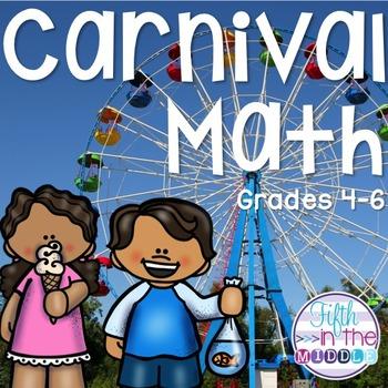 Carnival Math Centers for Upper Elementary