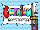 Carnival  Math Games Adding Subtracting Money Graphing Measuring Place Value