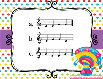 Carnival Melodies -- An Aural Melody Recognition Game {sol mi}
