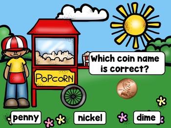Carnival Money (Penny, Nickel, Dime) Free Sampler