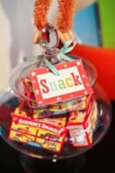 Classroom Decor Carnival Multipurpose Labels