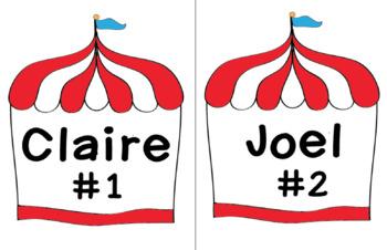 Carnival Name Tags