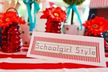 Classroom Decor Carnival Nameplates