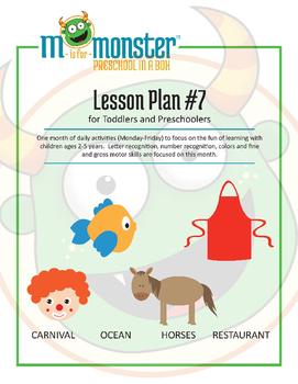 Carnival, Ocean, Horses & Restaurant Lessons