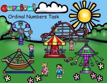 Carnival Ordinal Numbers Task