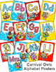 Owls Carnival Theme Alphabet Posters - Circus Theme