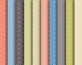 Carnival Papers, Digital Papers, Stripe Papers, Carnival Paper Set #040