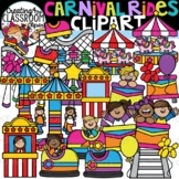 Carnival Rides Clipart {Amusement Park Clipart}
