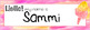 Carnival Season Watercolor Editable Nameplates
