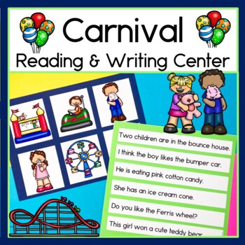Carnival Sentence Picture Match Reading Center