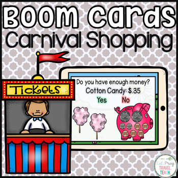 Carnival Shopping Boom Cards