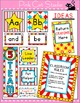 Carnival Circus Labels & Templates for Classroom Jobs, Bin