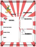 Carnival Theme Newsletter