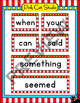 Carnival Ticket Word Wall Set - Circus Ticket