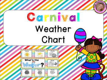 Carnival Theme Weather Chart