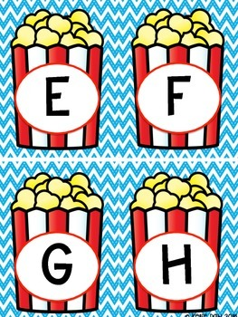 Carnival Theme Word Wall Headers