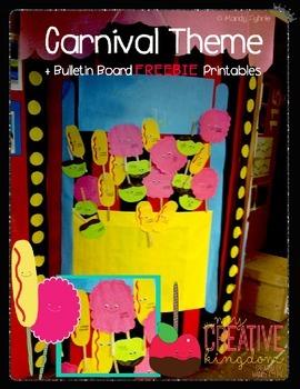 Carnival Themed Bulletin Board Printable Freebie