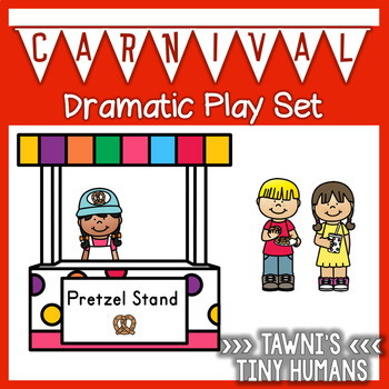 Carnival Themed Dramatic Play Set