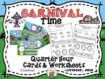 Carnival Time Bundle (Telling Time)