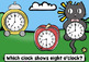 Carnival Time (Hour and Half Hour) - Boom Cards Set (Digital & Analog Clocks)