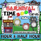 Carnival Time (Hour and Half Hour) - Boom Cards Set (Digital & Analog Clocks)