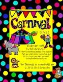 Carnival and Circus clip art set