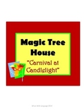 Carnival at Candlelight Magic Tree House #33 Comprehension